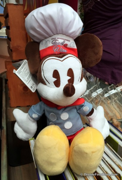 Retro Food and Wine Festival Mickey Mouse Plush
