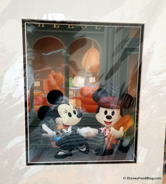 Mickey and Minnie Print