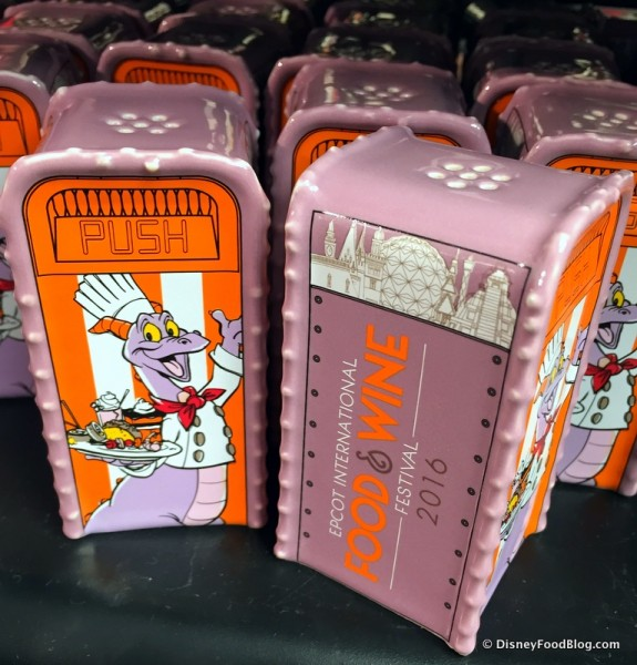 Figment Trash Can Salt and Pepper Shakers