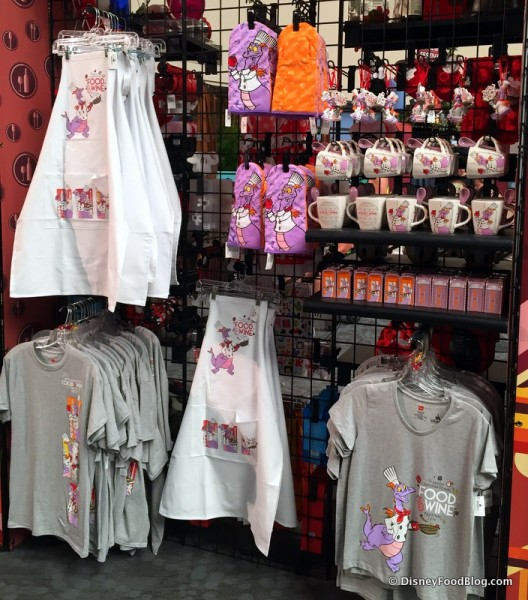 Wall of Figment Merch
