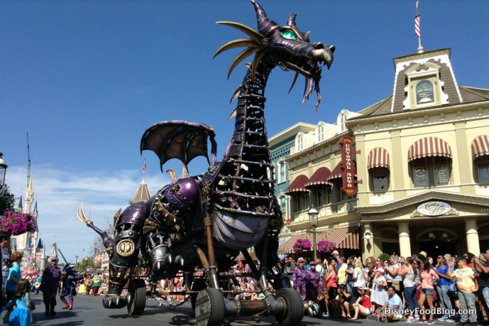Festival of Fantasy Parade's Big Gun!