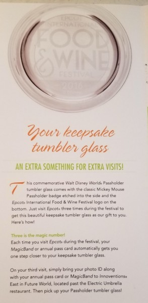 How to Get Your Passholder Exclusive Food and Wine Tumbler