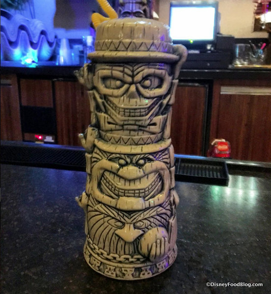 Hitchhiking Ghosts Tiki Mug in Trader Sam's Grog Grotto