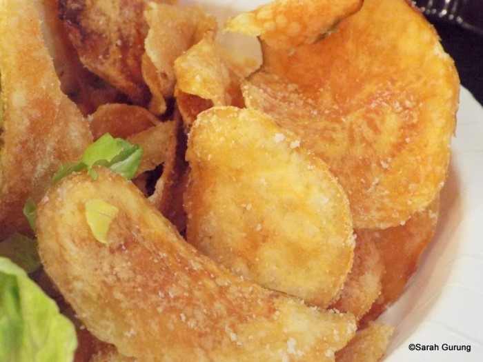 Housemade Salt and Vinegar Chips