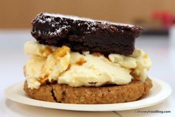 Ice Cream Cookie Sandwich at Sprinkles