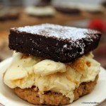 Review: Salted Oatmeal Cornflake Cookie, Brownie, and Cap'n Crunch Ice Cream Sandwich at Sprinkles in Disney Springs