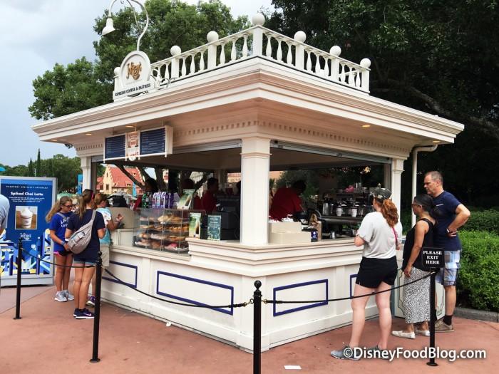 American Adventure Joffrey's Kiosk