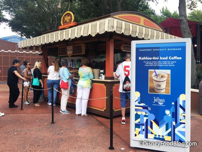 World Showplace Joffrey's Kiosk