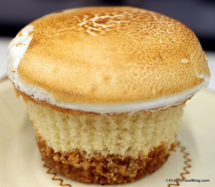 Lemon Meringue Cupcake -- Out of the Wrapper
