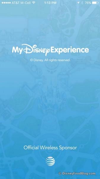 My Disney Experience Mobile App