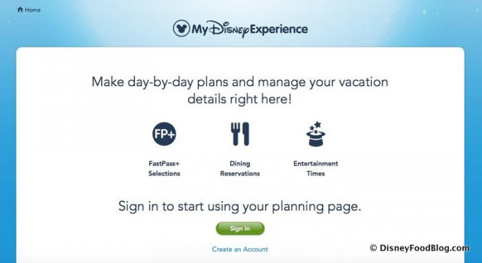 Access My Disney Experience on Your Computer or Your Mobile App