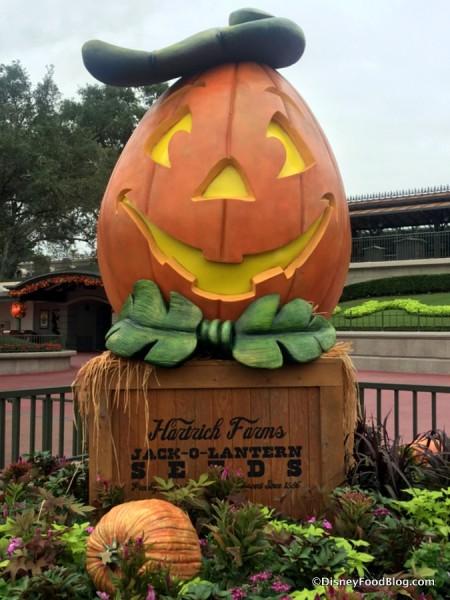 Halloween Decoration in Magic Kingdom