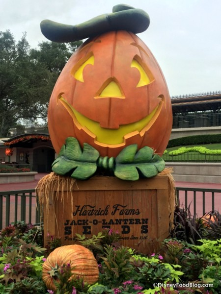 Halloween Decoration in Magic Kingdom
