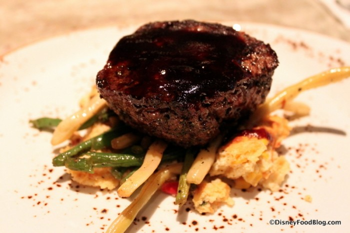 Oak-Grilled Filet Mignon at Jiko