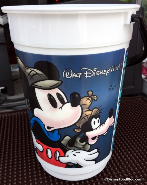 Magic Kingdom Souvenir Popcorn Bucket September 2016