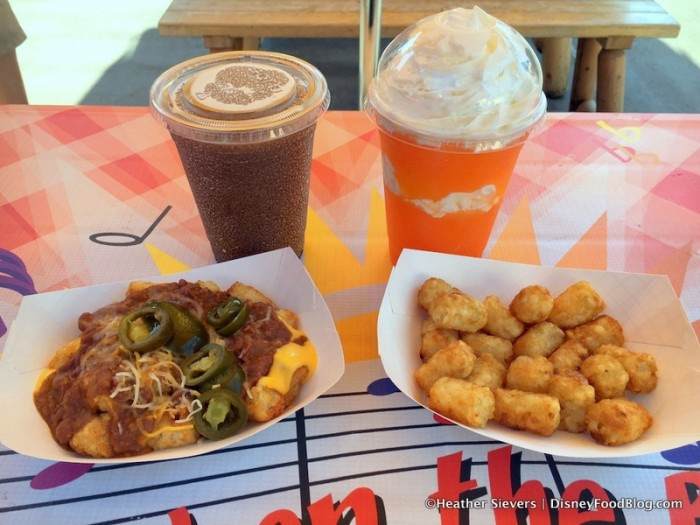 Our Slushies, Tot-chos, and Tots