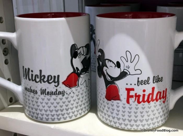 Mickey Working Day Mug