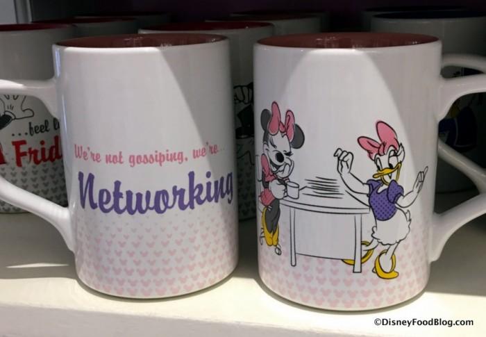 Minnie and Daisy Working Day Mug