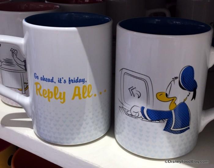 Donald Working Day Mug