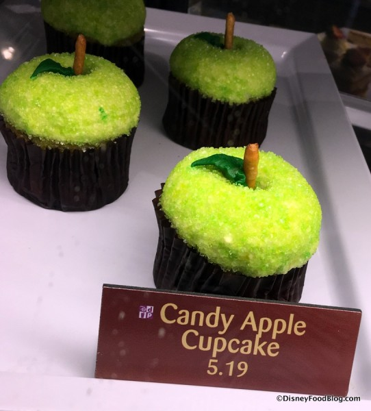 Sunshine Seasons Candy Apple Cupcake