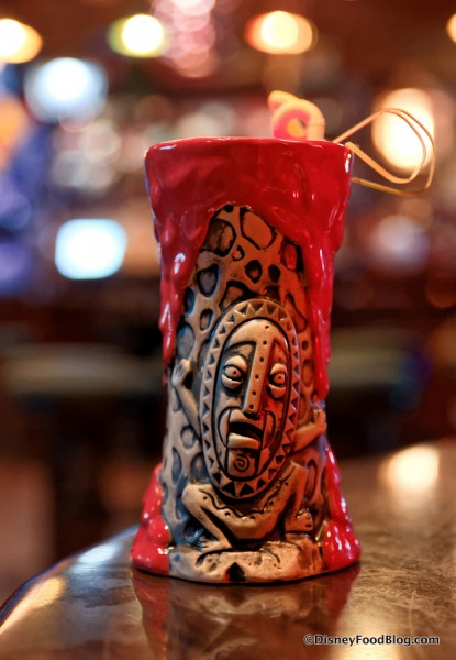 Krakatoa Punch in glass