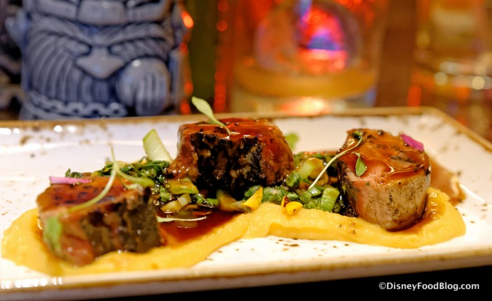 Marinated Grilled Lamb Loin