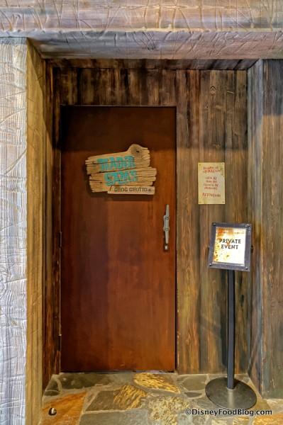 Entrance into Trader Sam's Grog Grotto