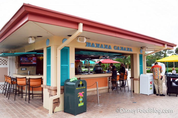 Banana Cabana is closing during refurbishment this spring.