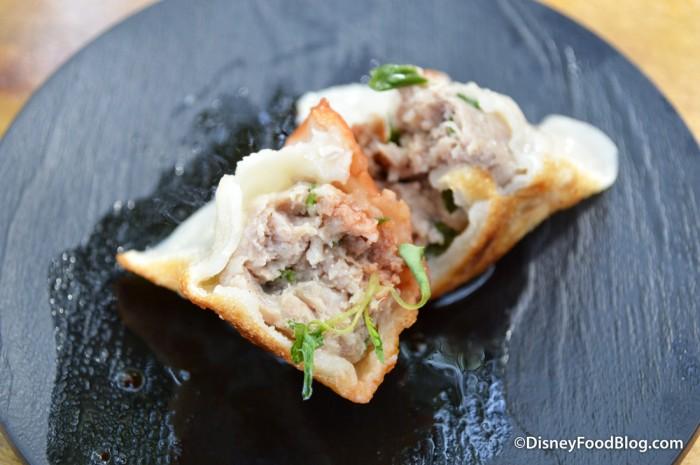 Pork Dumpling -- Inside