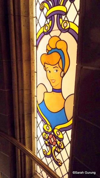 Stained Glass Cinderella