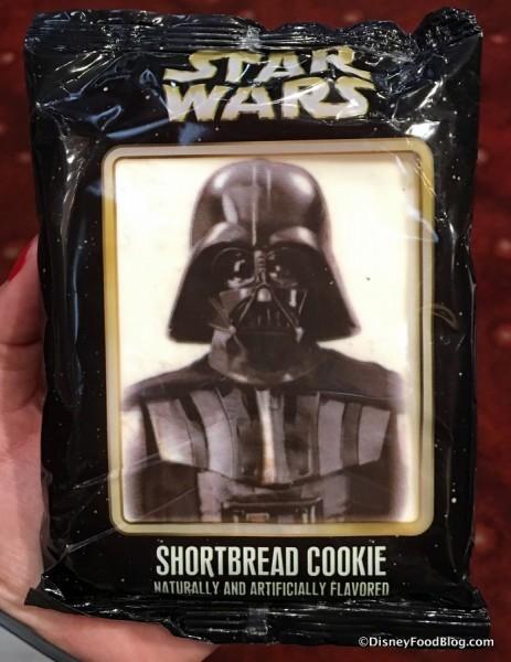 Darth Vader Shortbread Cookie