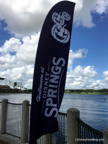 Disney Springs signs