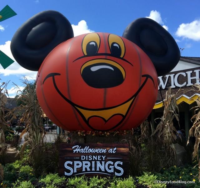 Disney Springs Pumpkin