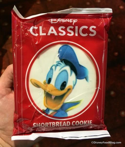 Donald Duck Shortbread Cookie