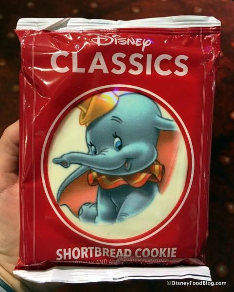 Dumbo Shortbread Cookie