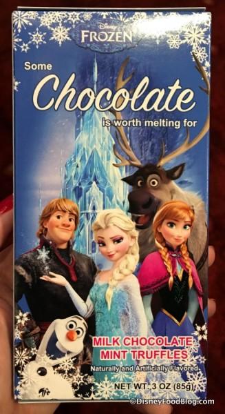 Frozen Milk Chocolate Mint Truffles