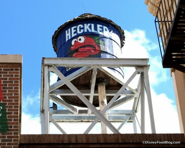 Heckler's Tomatoes Water Tower