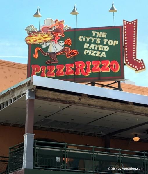 PizzeRizzo sign