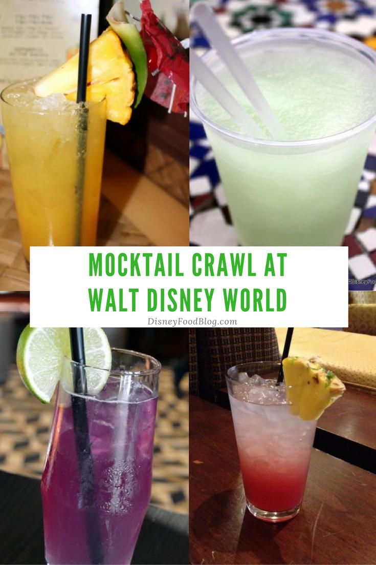 Go on a Walt Disney World Mocktail Crawl!