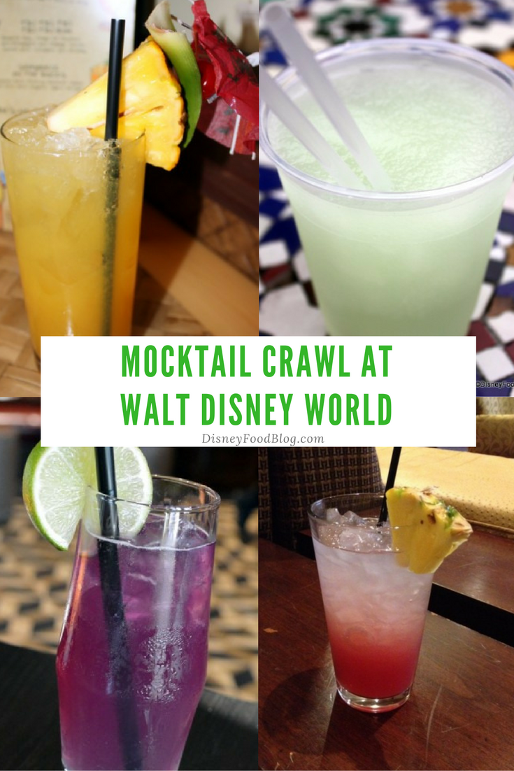 Go on a Walt Disney World Mocktail Crawl!