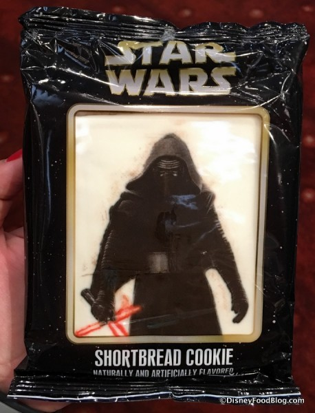 Kylo Ren Shortbread Cookie