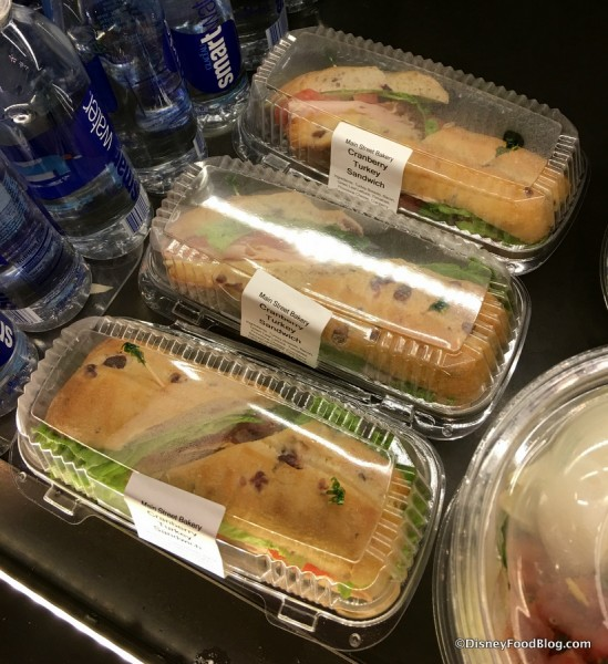 Cranberry Turkey Sandwich Packaged To Go