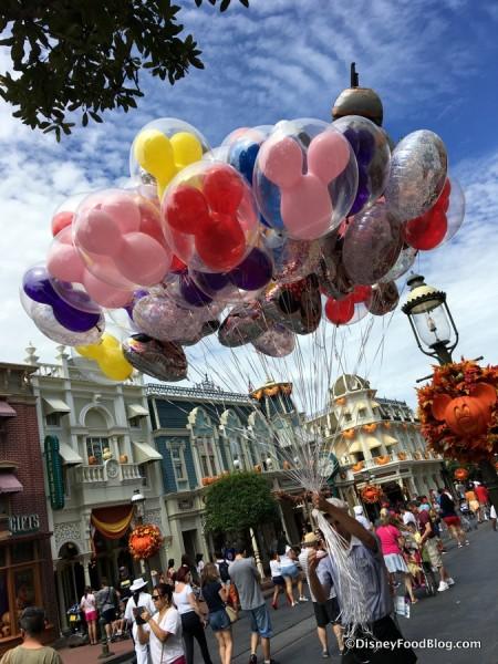 Main Street, U.S.A. Balloons