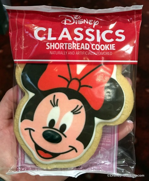 Minnie Mouse Shortbread Cookie