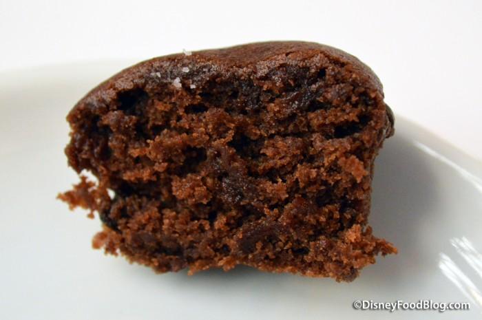 Brownie Bite Cross-Section
