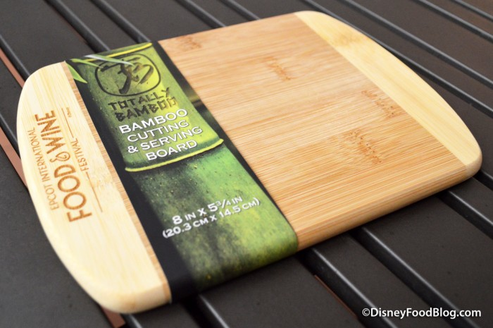 Food and Wine Bamboo Cutting and Serving Board