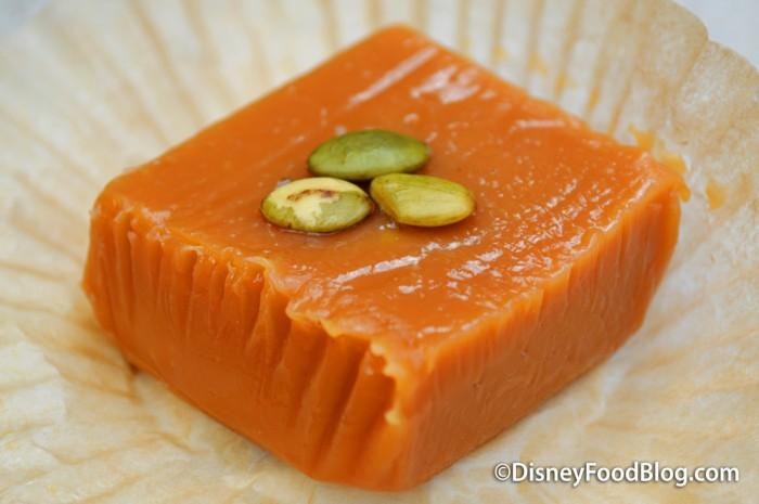 Pumpkin Spice Caramel Square
