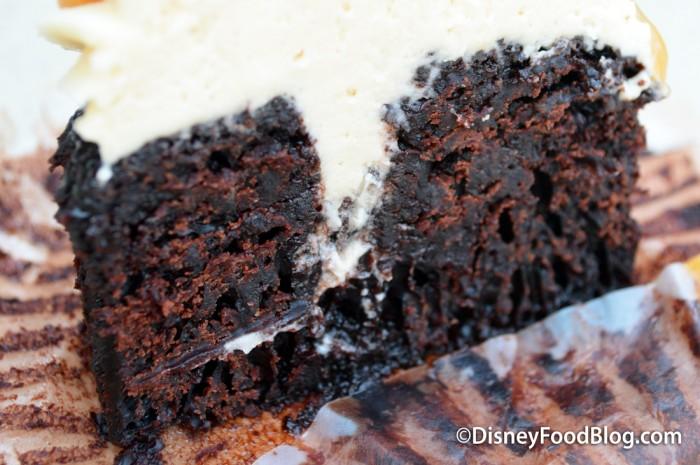 Salted Caramel Cupcake close-up