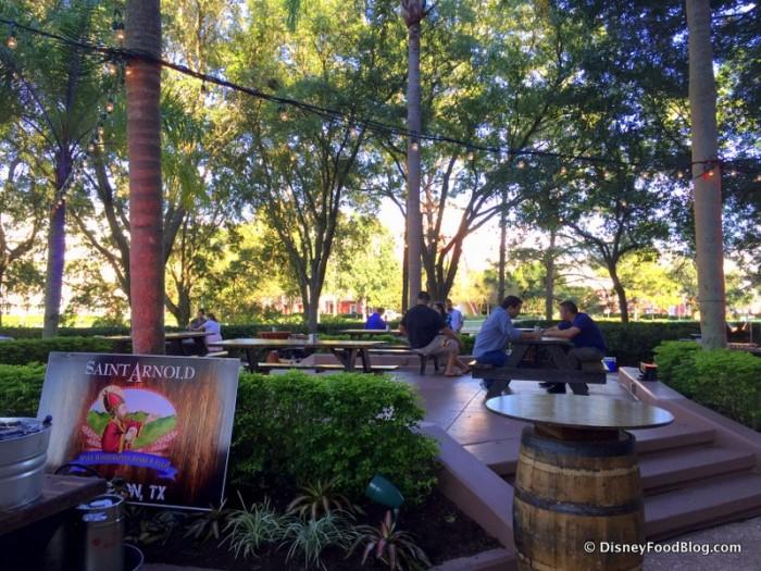 Terrace Beer Garden Seating