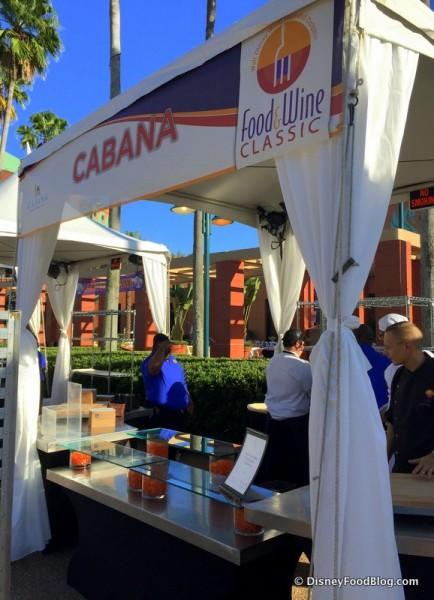 Cabana Booth